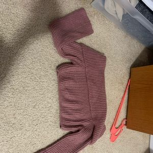 Tops - Did the shoulder cropped sweater
